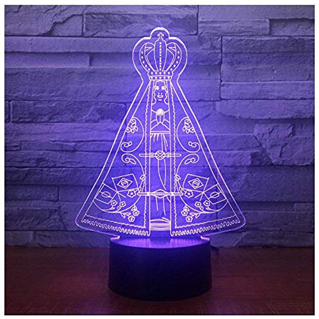 Beruhrungsschalte Zelt Science Fiction Kreative Neue 3d Usb Tischlampe 7 Farbwechsel Led Baby Schlaf Nachtlicht Thanksgiving Nachtlicht Tischlampen Farbwechsel