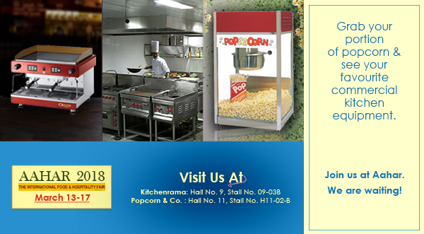 Kitchenrama Cordially Invites You To AAHAR 2018 At Hall No.9, Stall No.  09 03B, The Biggest Hospitality Exhibition To Be Held On 13th March To 17th  March At ...