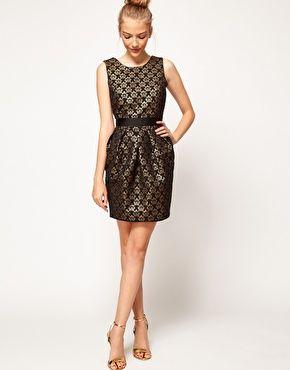 Enlarge A Wear Jacquard Cocoon Dress