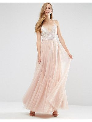 5789e72acd454 Nude and Blush Gowns | My Style | Embroidery motifs, Embroidery ...