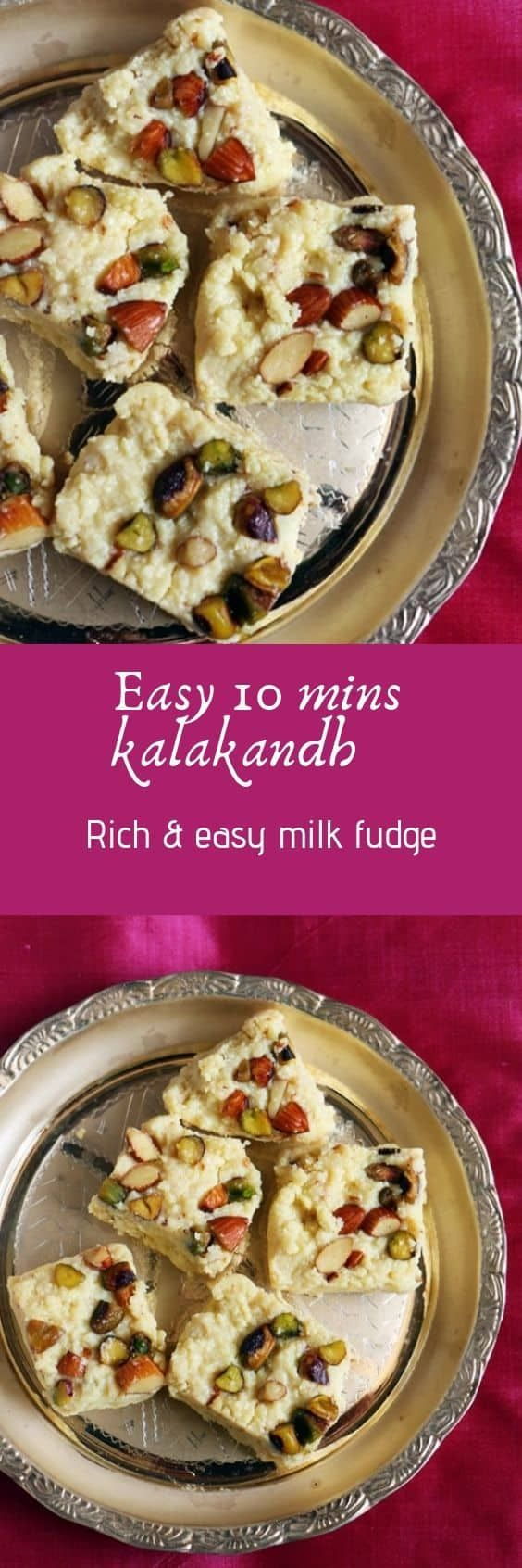 Kalakand Recipe In 10 Minutes With Step By Step Photos Kalakand Is A Very Rich And Delicious Traditional Indian Mi Kalakand Recipe Indian Food Recipes Recipes