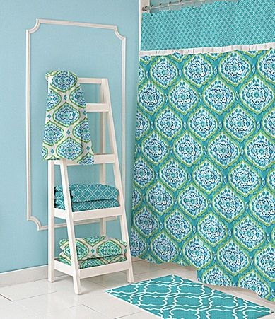 Dena Home Tangier Shower Curtain And Hooks Dillards Stylish