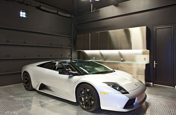 I always love clean garages there is something sexy about for Luxury garage interiors