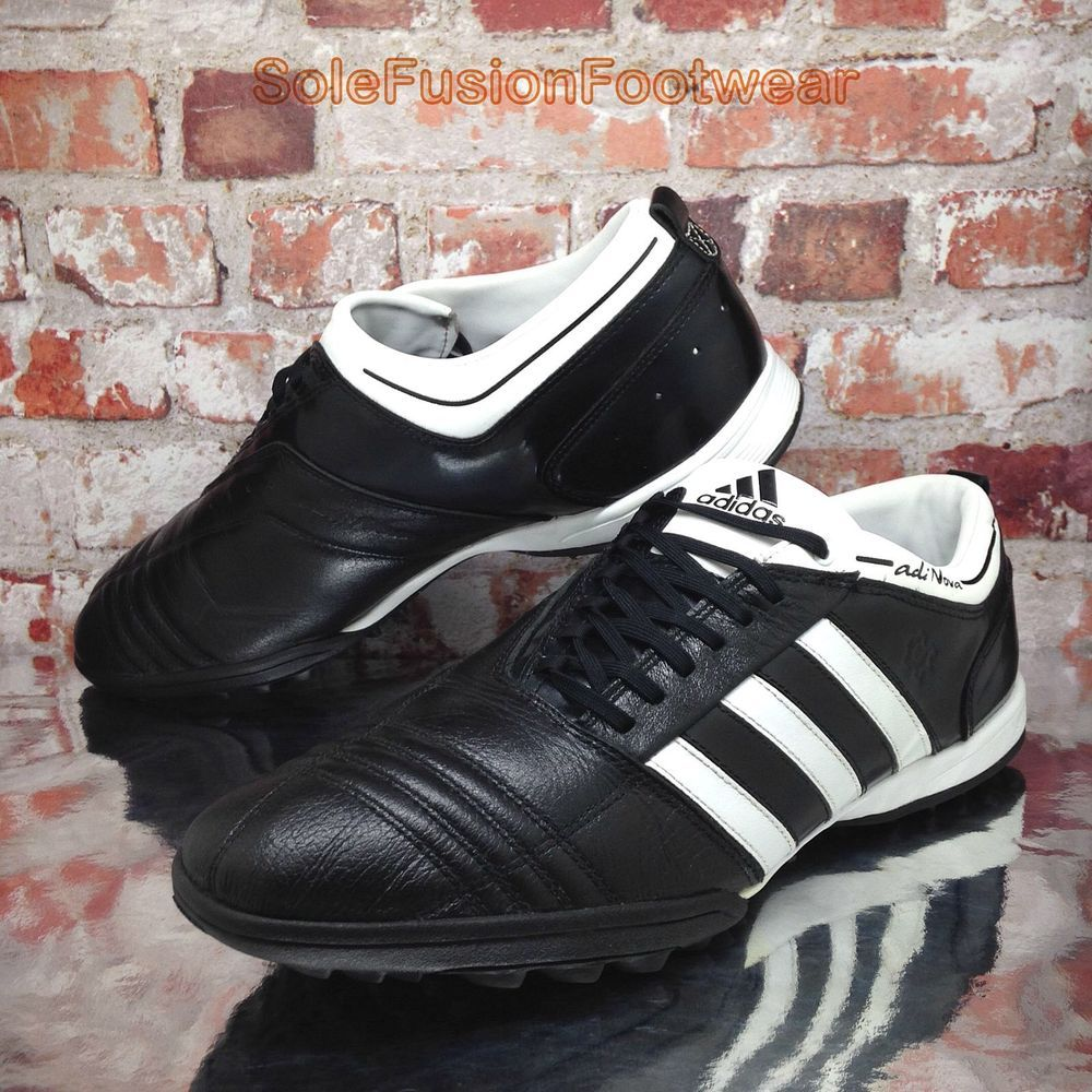 cf01eb0c689 adidas Mens adiNova Football Trainers Black sz 13 TRX Astro Turf Shoes EU  48 2