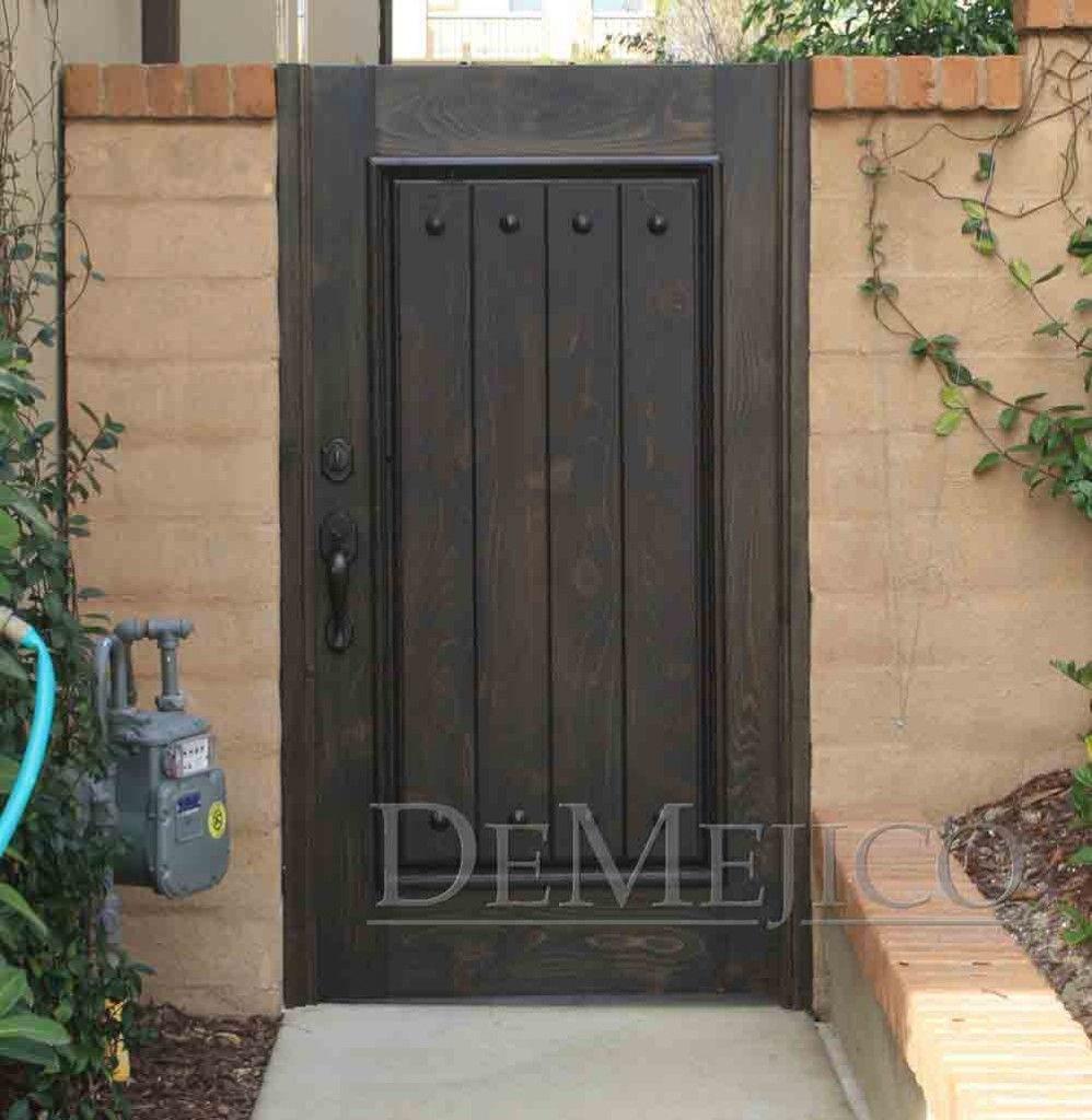 Hacienda Style Side Gate Door Fence