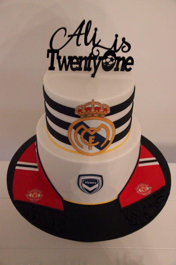 Melbourne Victory Birthday Cake