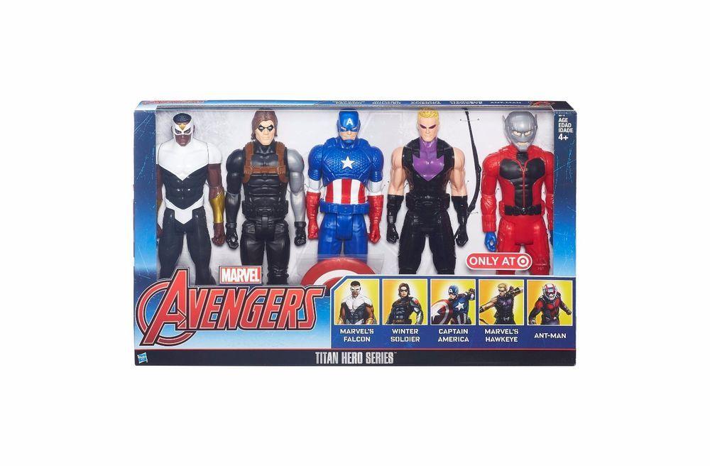 Marvel avengers Titan Hero Series Pack 8 Figure 30 cm nouveau