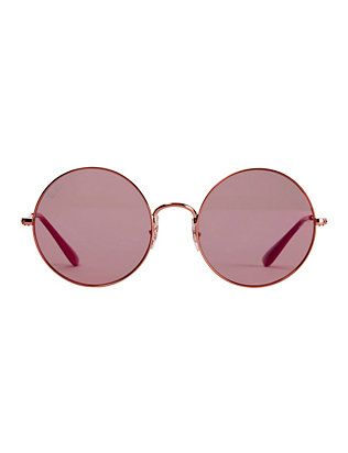 931f1ea4ec Ray-Ban The Jajo Pink Round Sunglasses