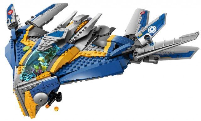 LEGO® NEW Marvel™ Superheroes 76021 Sakaaran w//  Necrocraft w MINIFIGURE NO BOX