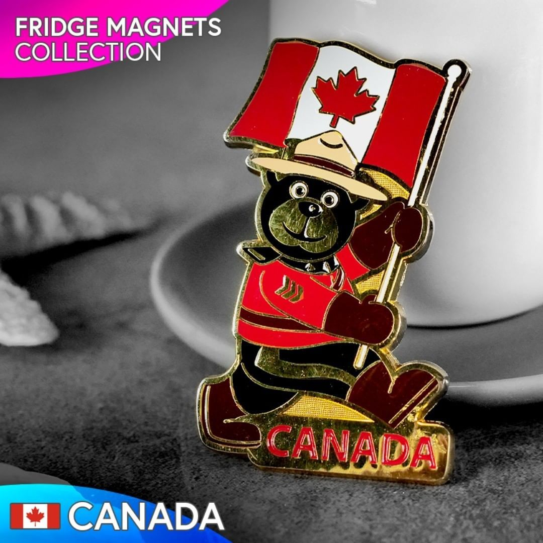 Zbierka magnetiek Kanada Collection of magnets Canada