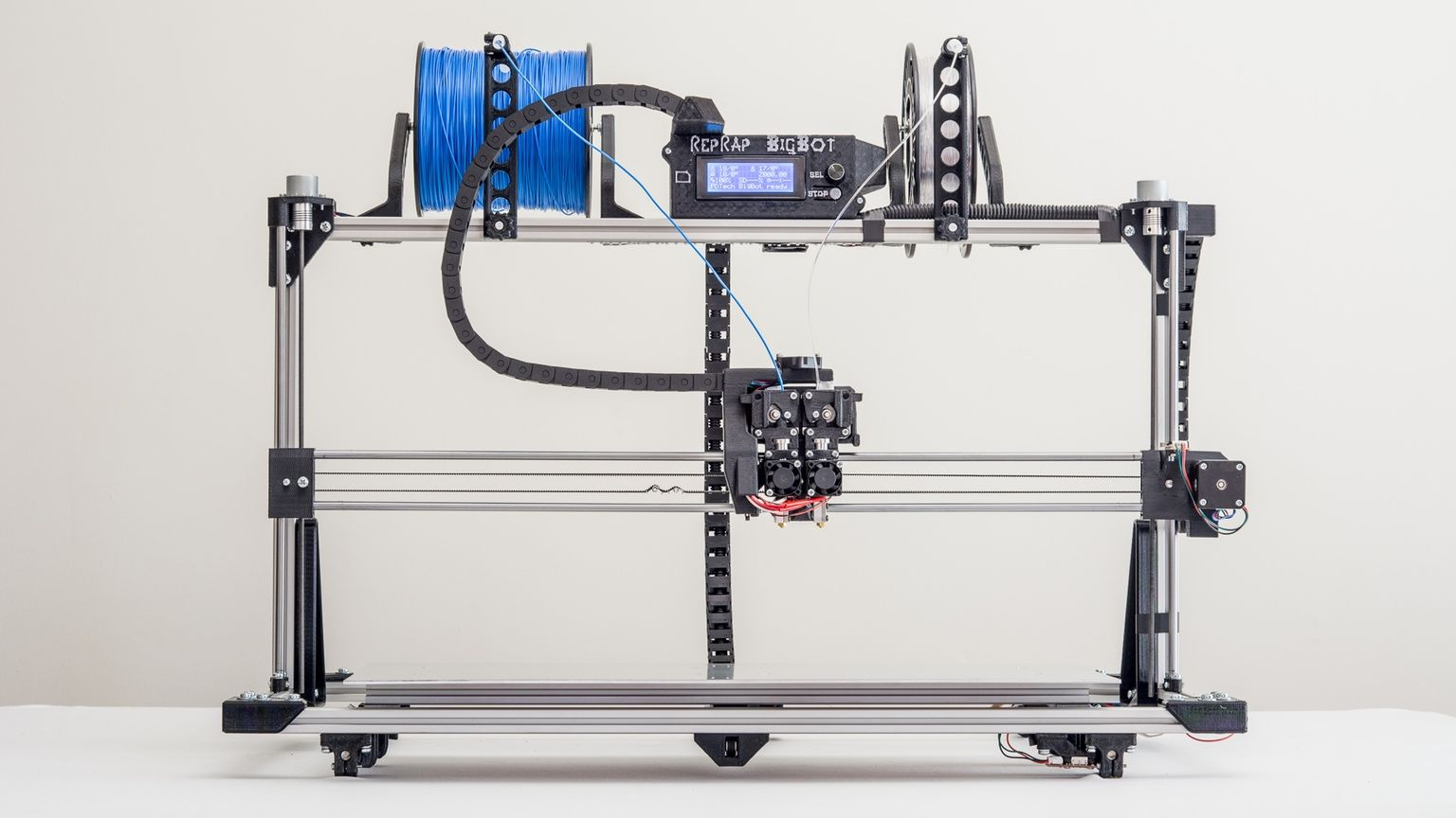 Large scale 3D printers based on the widely popular and