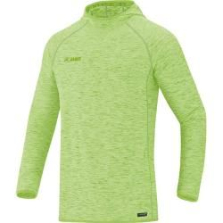 Photo of Jako Men's Hooded Sweatshirt Active Basics, size S in neon green heather, size S in neon green heather Jak