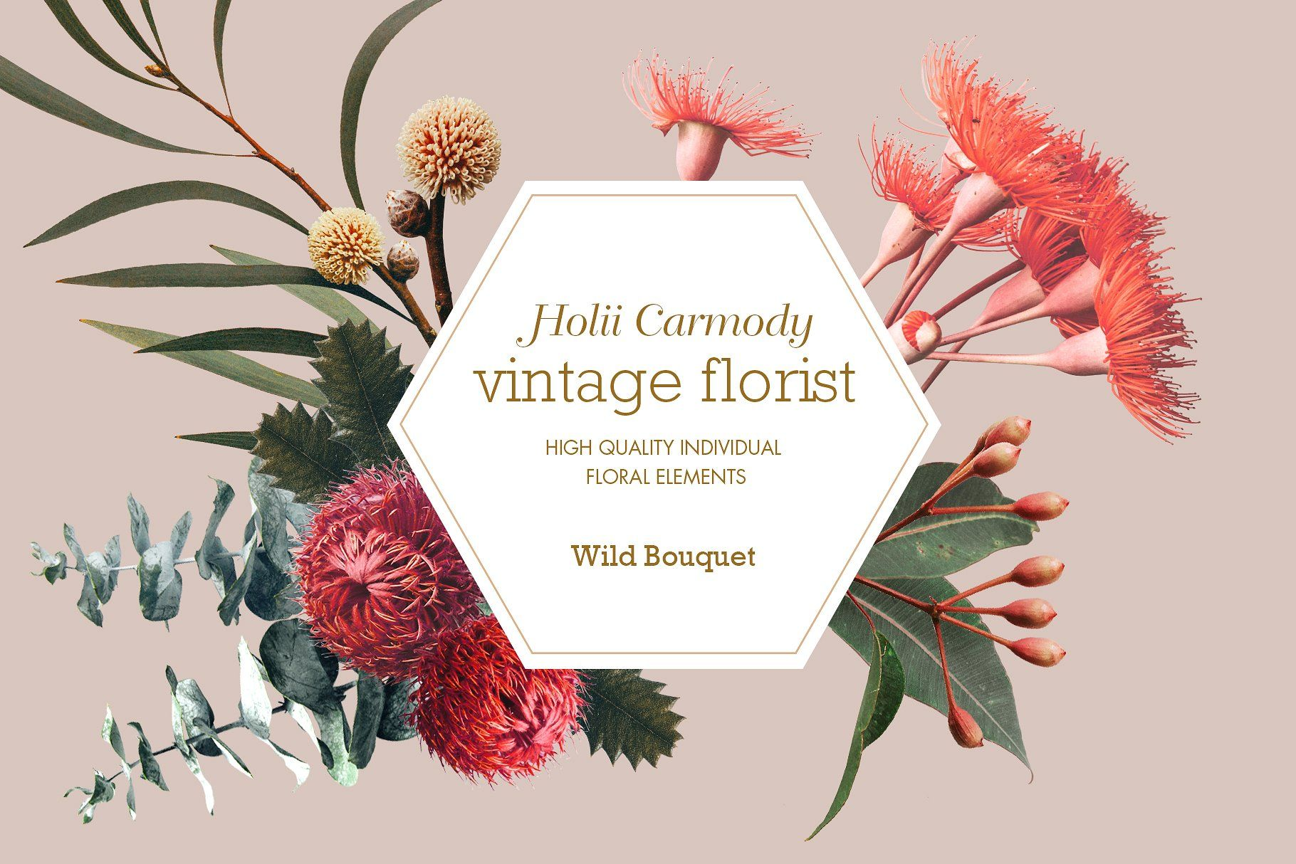 Vintage Wild Flowers Bouquet (With images) | Wildflower ...