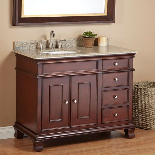 Manhattan 42 Single Sink Vanity By Mission Hills For The House Bathroom Pinterest And Vanities