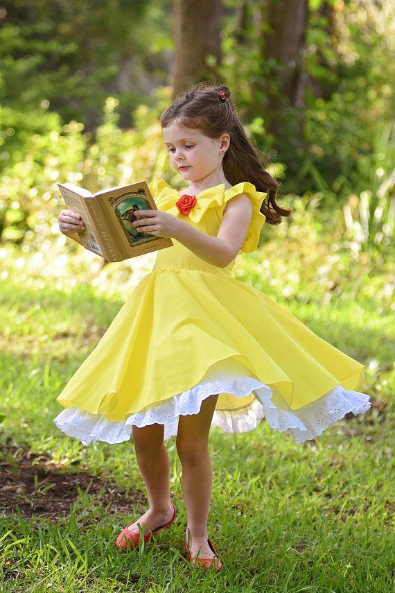 Disfraz De Bella Chicas Vestidos Vestidos De Princesa