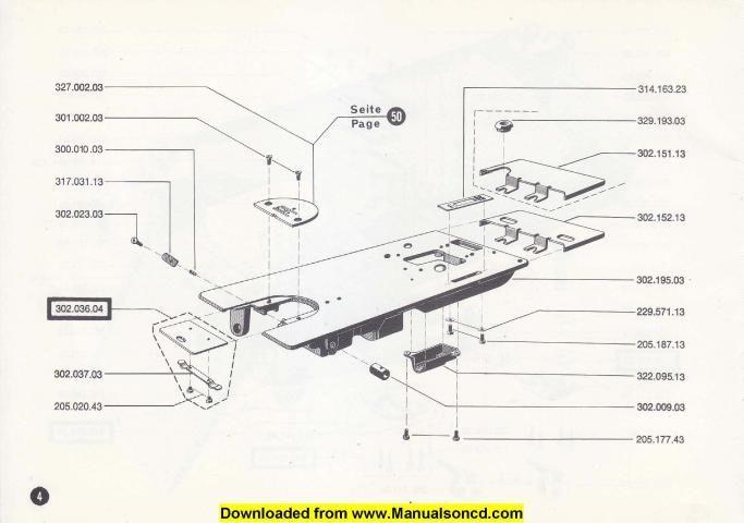 Bernina Parts Diagram - Wiring Library •