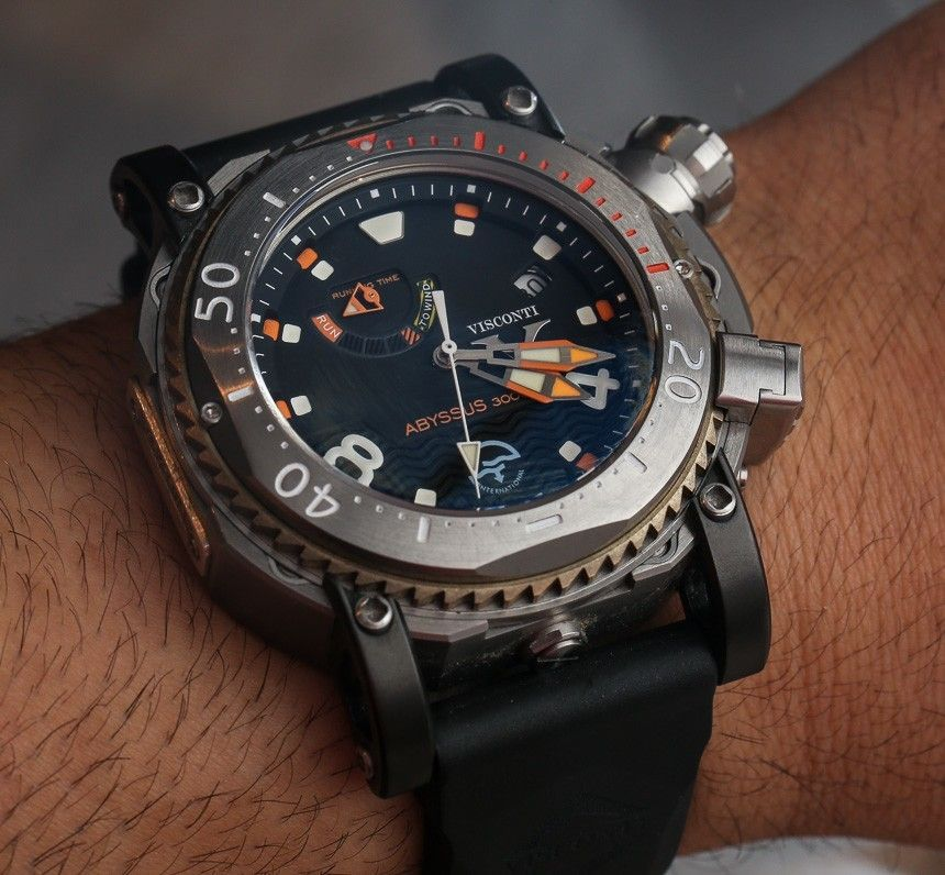 visconti abyssus s 3000m dive watches hands on grail watches visconti abyssus s 3000m dive watches hands on