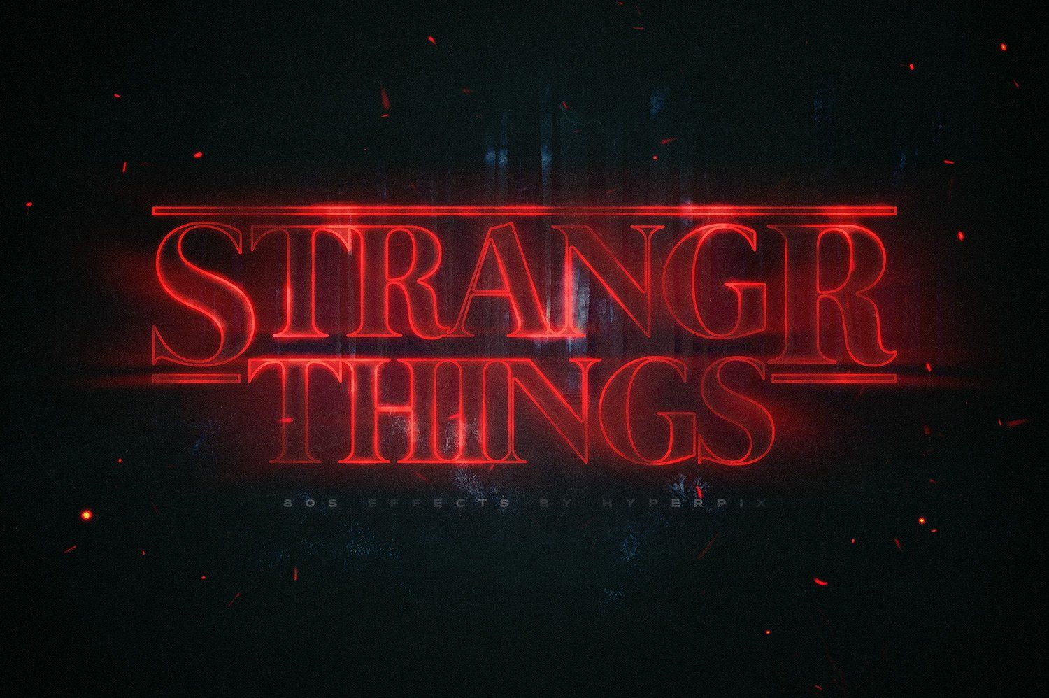 80s text and logo effects vol3 text effects stranger