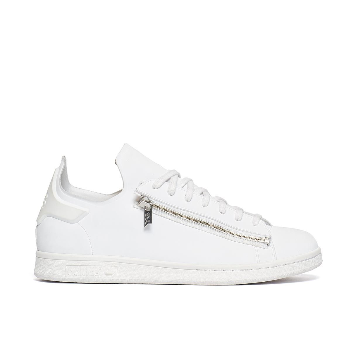 48de1d6017536 Delivery by August 31 Stan zip sneakers from the F W2016-17 Y-3 by Yohji  Yamamoto collection in white Launched in 2002