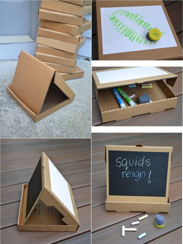 1 carton pizza de la peinture tableau des feulles un tableau noir un chevalet de. Black Bedroom Furniture Sets. Home Design Ideas