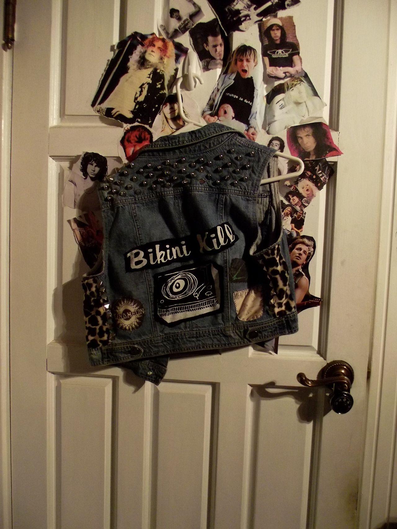 prettyugly92:  DIY Bikini Kill vest