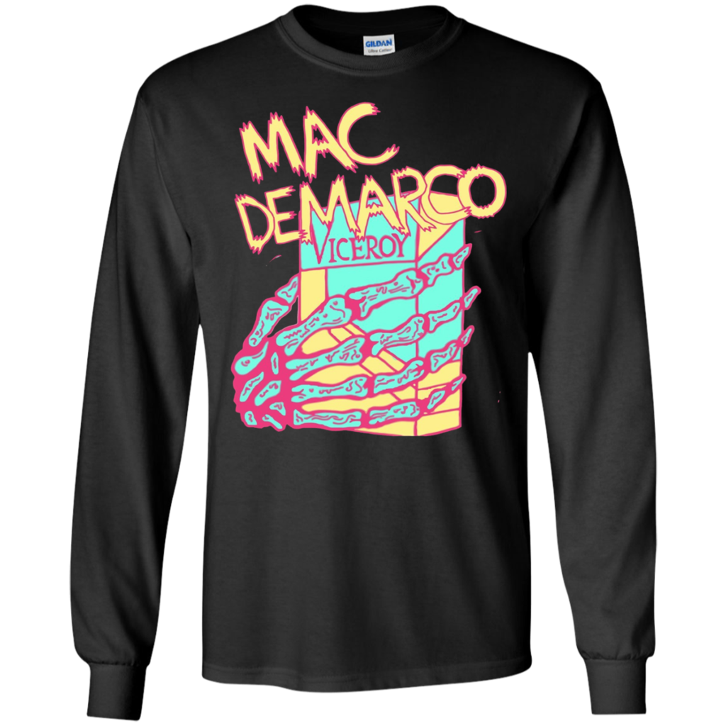 ef915fa9 Mac DeMarco - LS,Hoodie,Sweatshirt - TEEEVER - LS Ultra Cotton Tshirt /  Black / S- Apparel -TeeEver.com