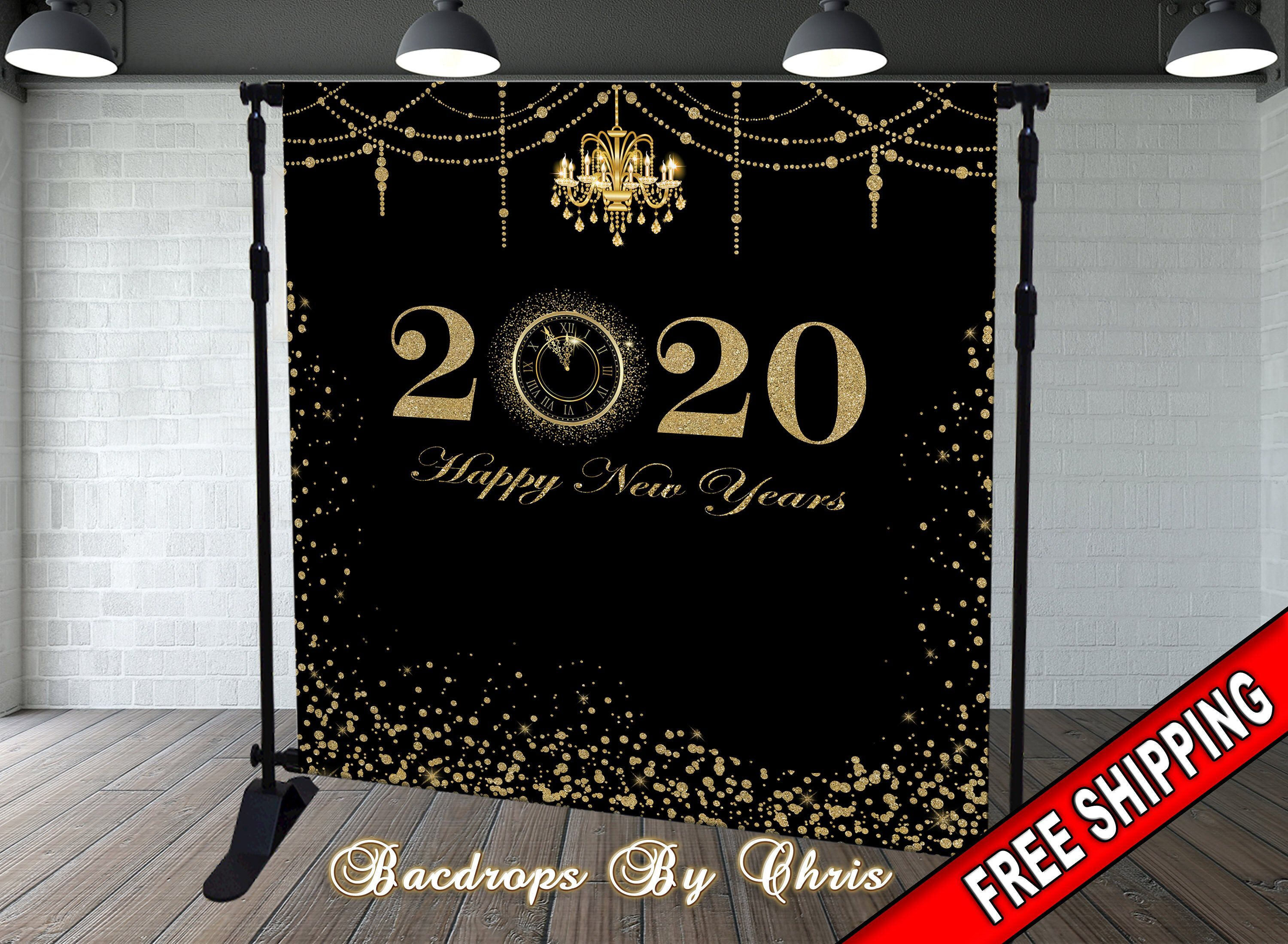 New Year S Eve Party Photo Booth New Year S Etsy In 2020 New Year Backdrop New Year Banner New Years Eve Decorations