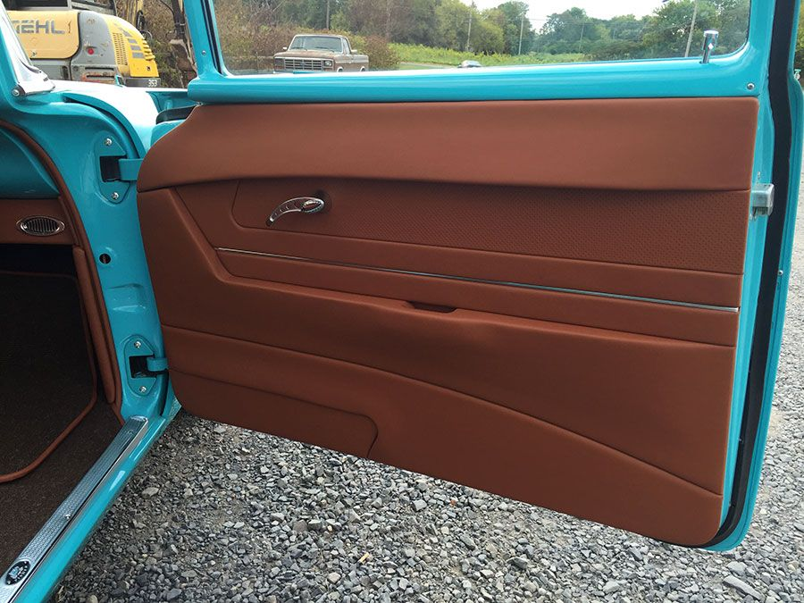 1957 Chevy Twin Turbo Ls Custom Interior By Bux Customs Hot Rod Interiors Custom Car Interior Interior Car Upholstery
