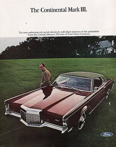 Lincoln Mark Iii 1969 Lincoln Car Brochures Pinterest