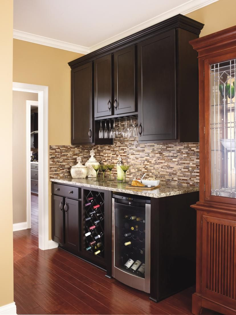 Put Extra Wall Space To Work With Aristokraft Cabinets