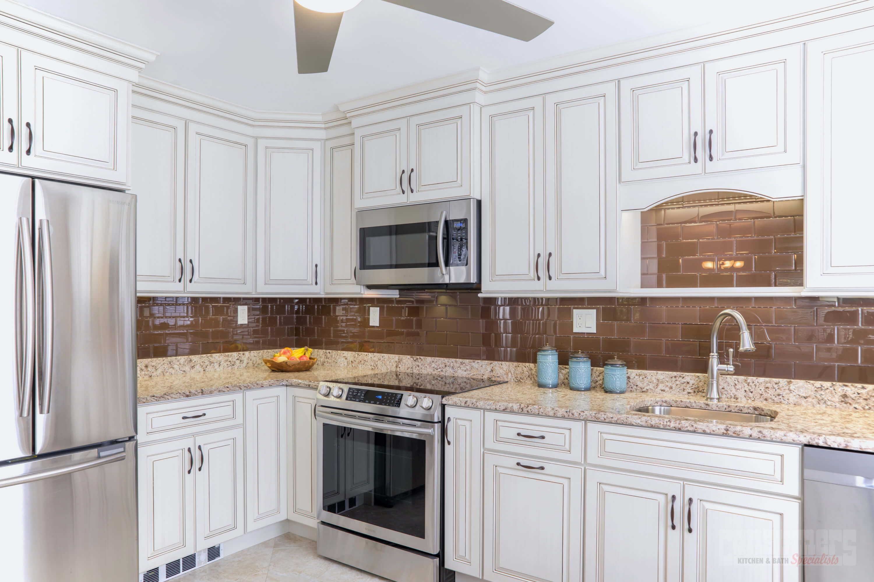 Genial Radiant Ridge | Consumers Kitchen Showcase Design | Long Island NY. Custom  CabinetsMicrowaveBirchGranite ...