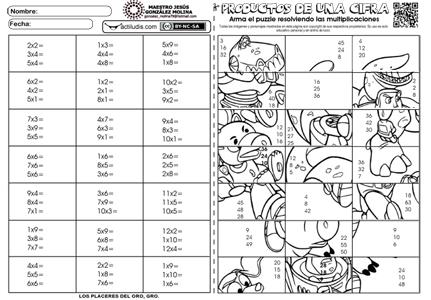 Actividades Lúdicas Educativas Tabla De Multiplicar Para Imprimir Tablas De Multiplicar Ejercicios Tablas De Multiplicar