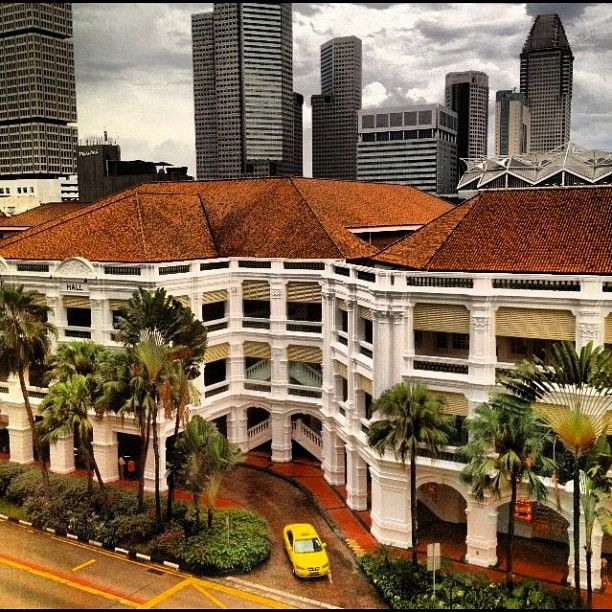 Raffles Hotel, Singapore - the grand old dame #raffles #hotel #singapore…