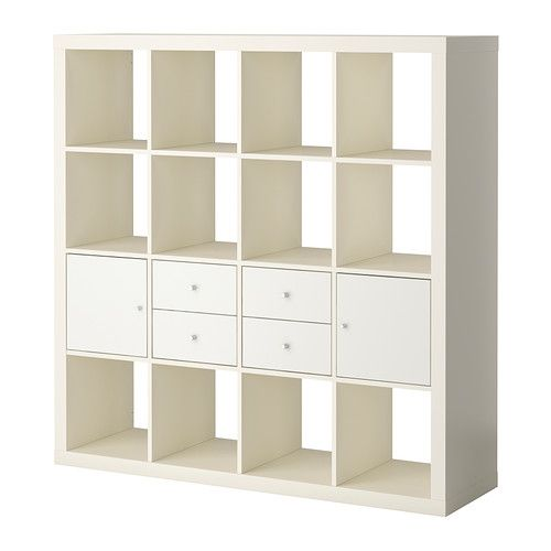 expedit combi rgt portes tiroirs blanc blanc ikea am nagement atelier pinterest blanc. Black Bedroom Furniture Sets. Home Design Ideas