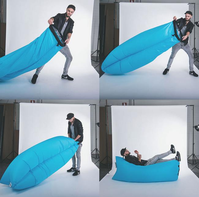 Sitzkissen Lamzac® The Original / Luftkissen   L 200 Cm, Schwarz Von Fatboy  Finden Sie Bei Made In Design, Ihrem Online Shop Für Designermöbel,  Leuchten Und ...