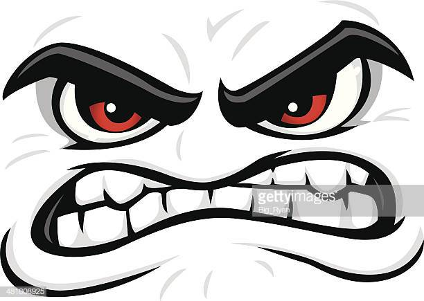 Angry Face Stock Illustrations Cartoon Faces Angry Cartoon Face Angry Face