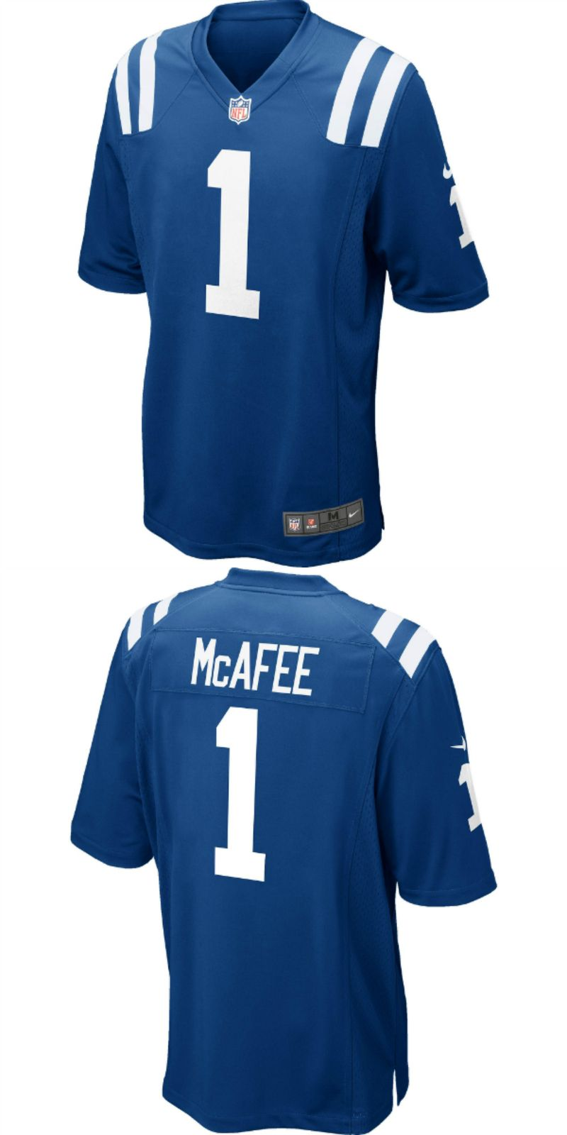 newest cb36a ab9e0 UP TO 70% OFF. Pat McAfee Indianapolis Colts Nike Game ...