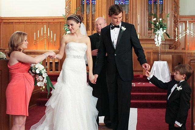 Wedding Dresses in TV
