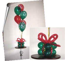 Balloon Decor Christmas Balloons