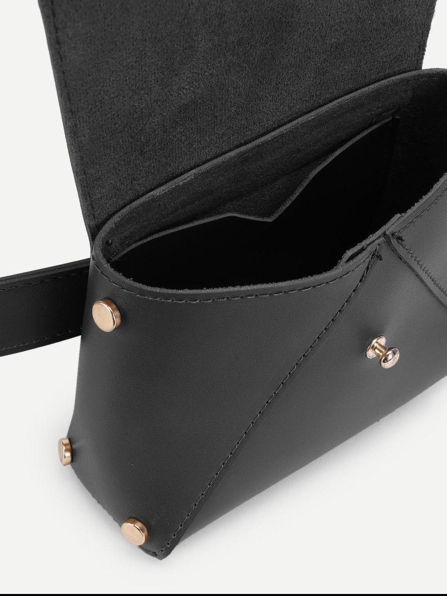 9ba9e2e97cc2 Shop Flap PU Bum Bag online. SheIn offers Flap PU Bum Bag   more to fit  your fashionable needs.