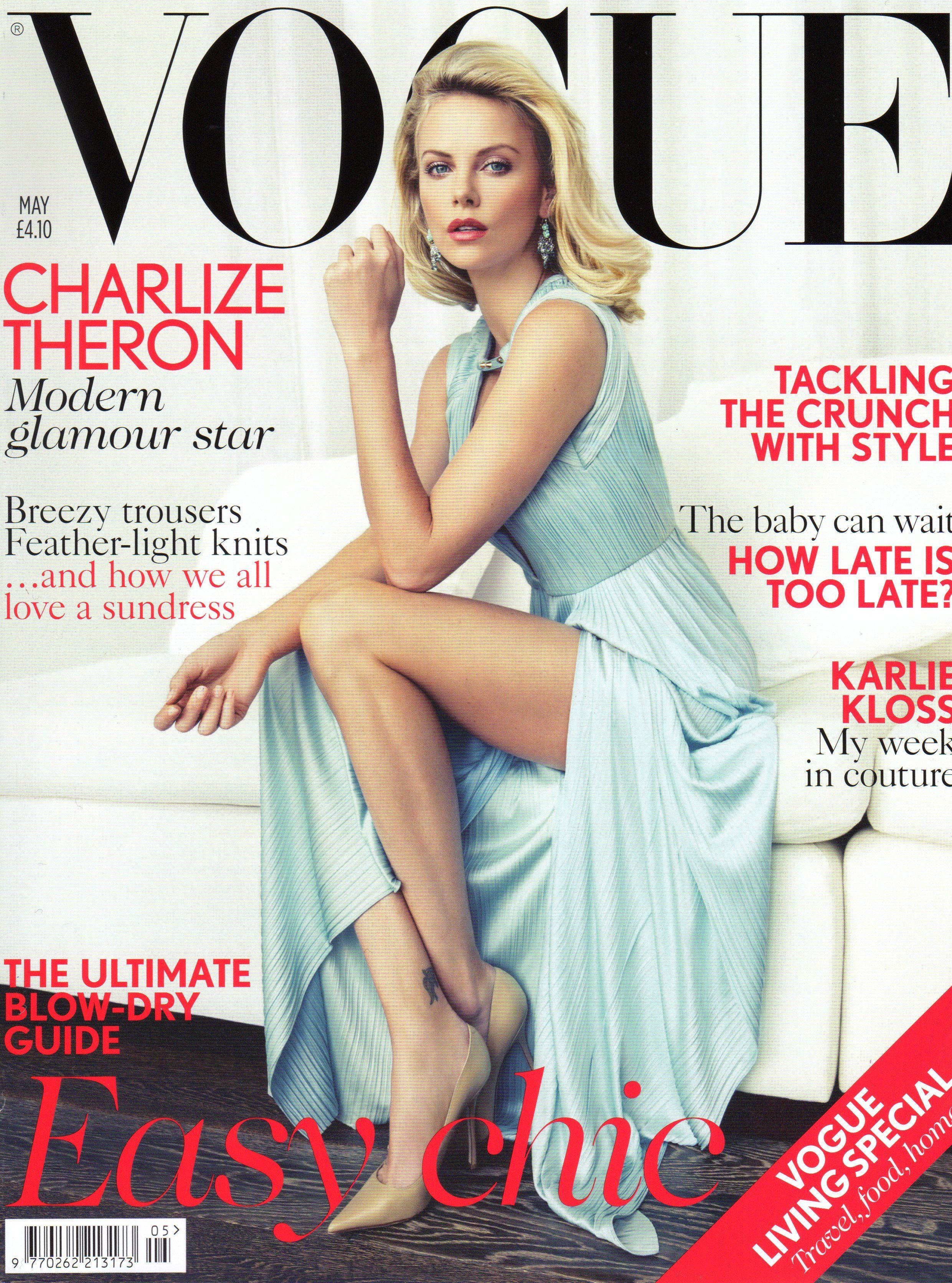 Charlize Theron - Vogue UK February 2020 • CelebMafia