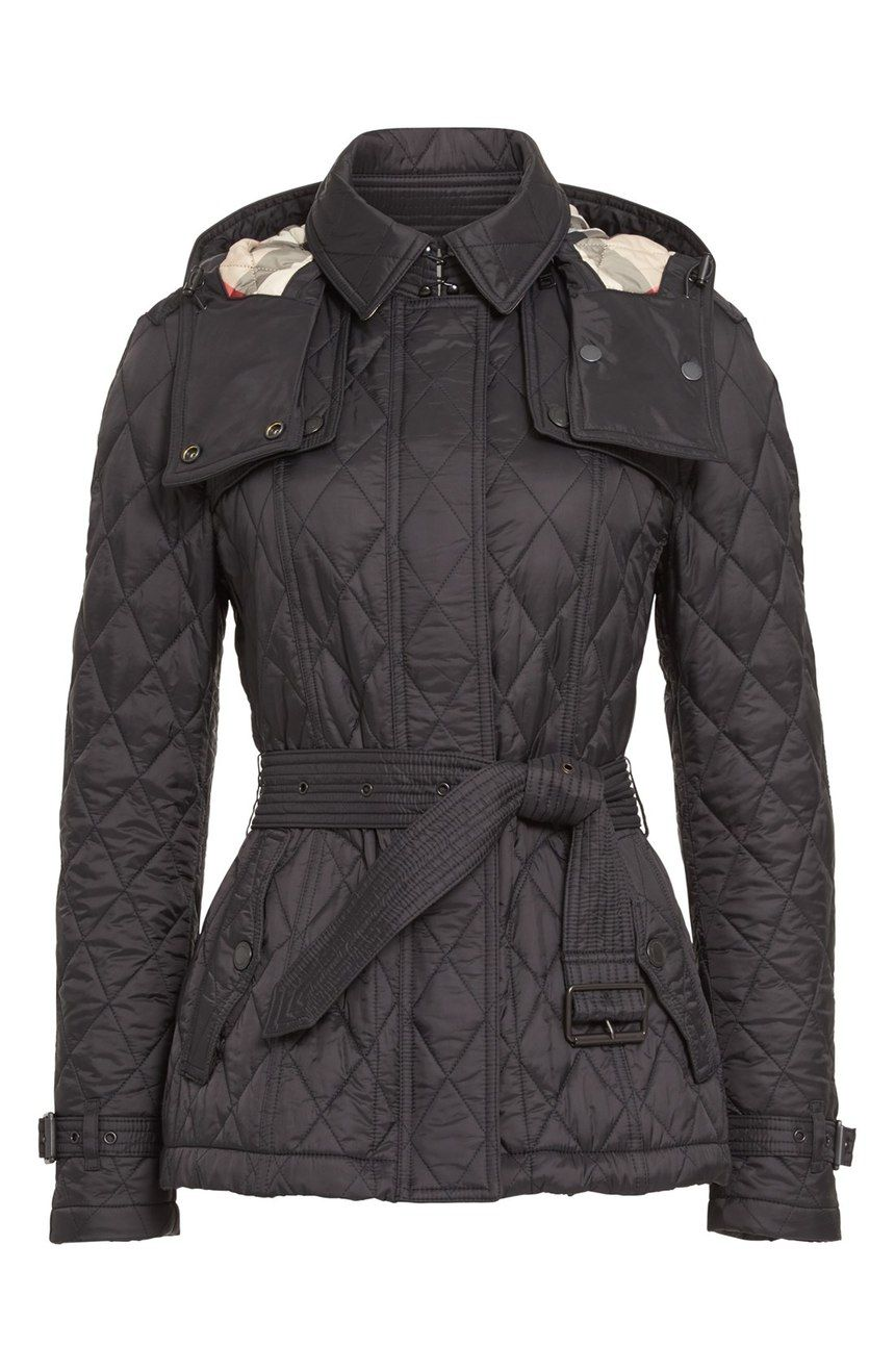 Burberry Finsbridge Short Quilted Jacket Nordstrom Quilted Jacket Jackets Ladies Turtleneck Sweaters
