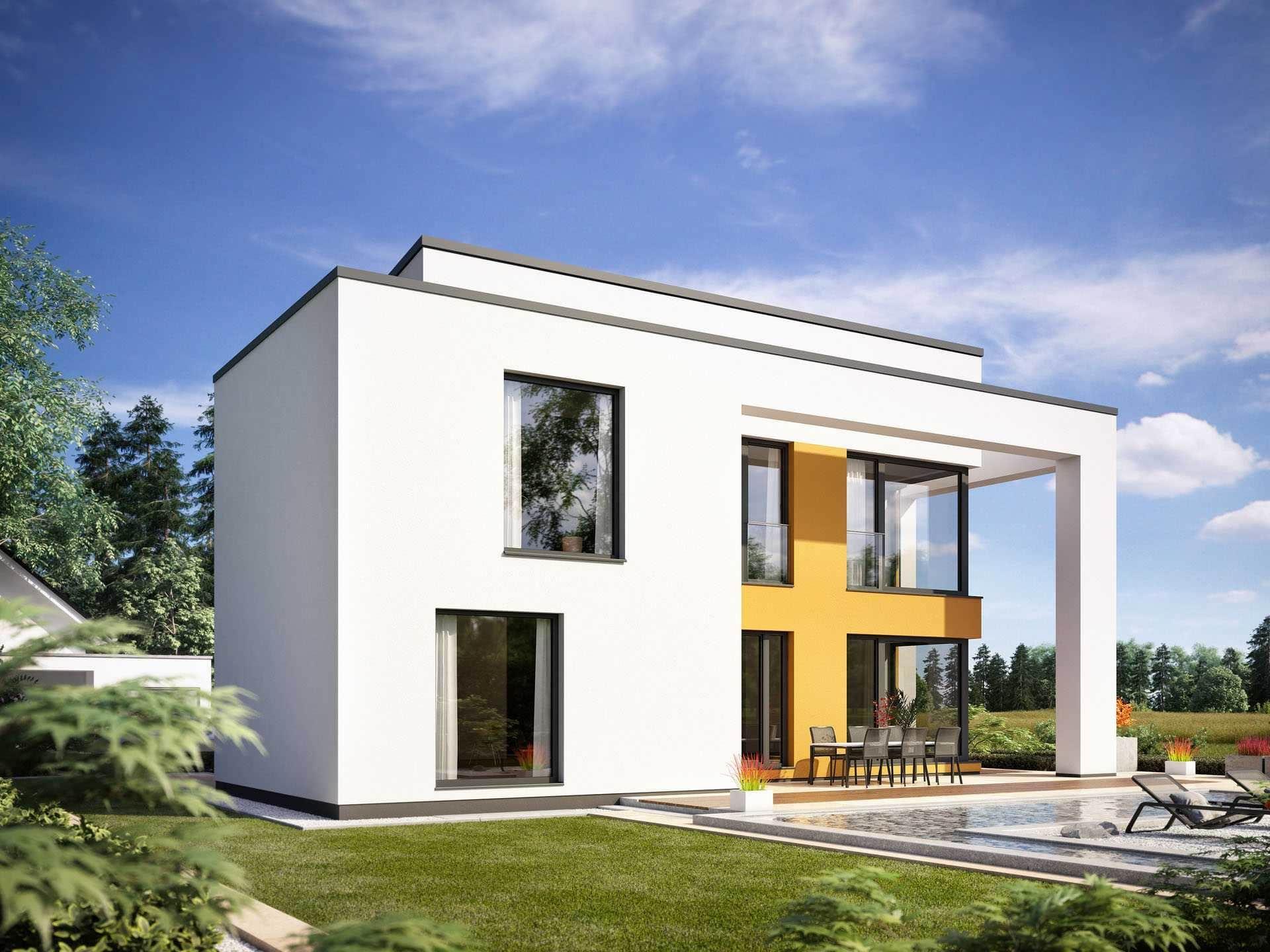 ^ ProFamily 134 von ProHaus GmbH - Musterhaus.net KfW ...