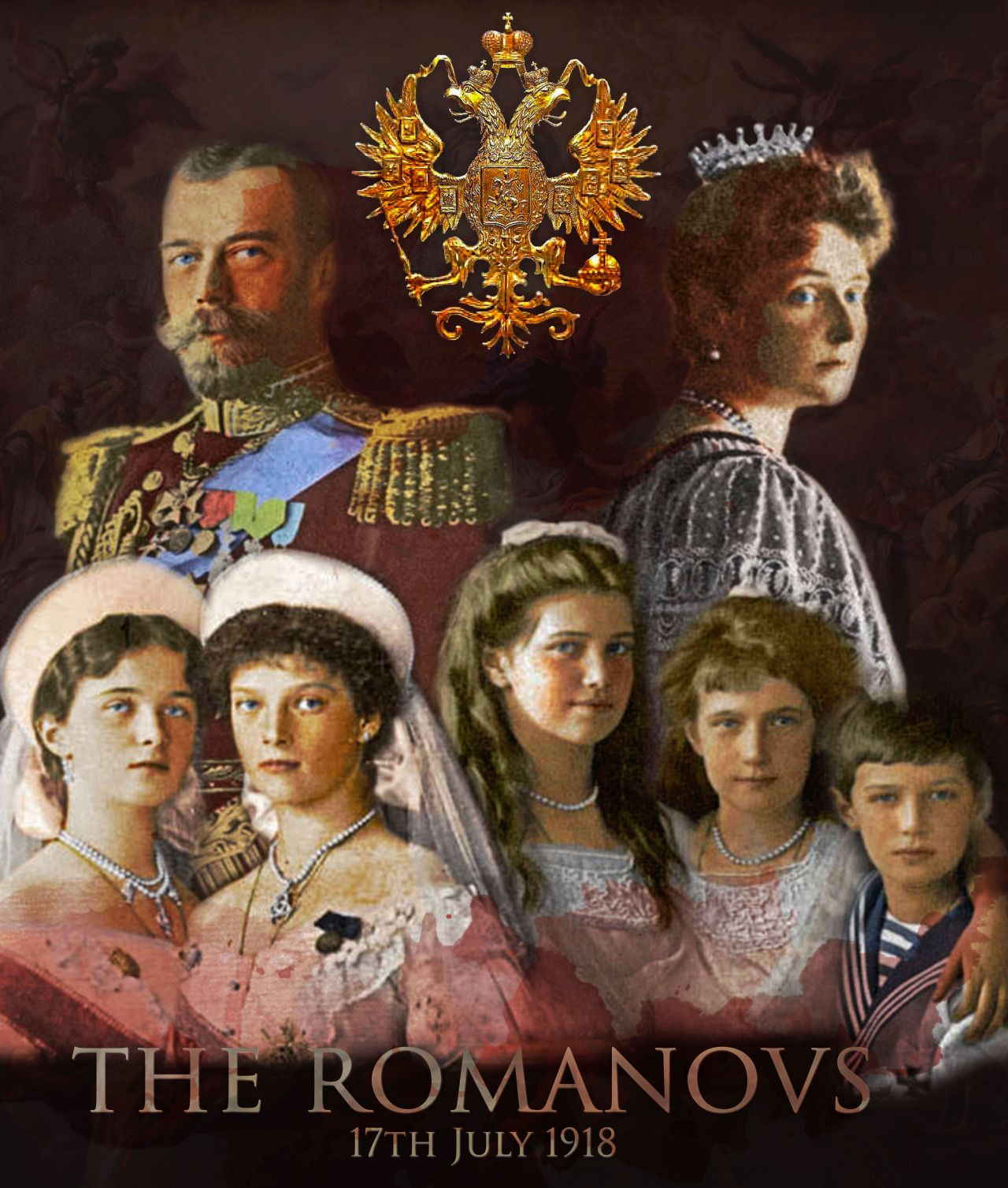 The House of Romanov Russian Royal Family POSTER