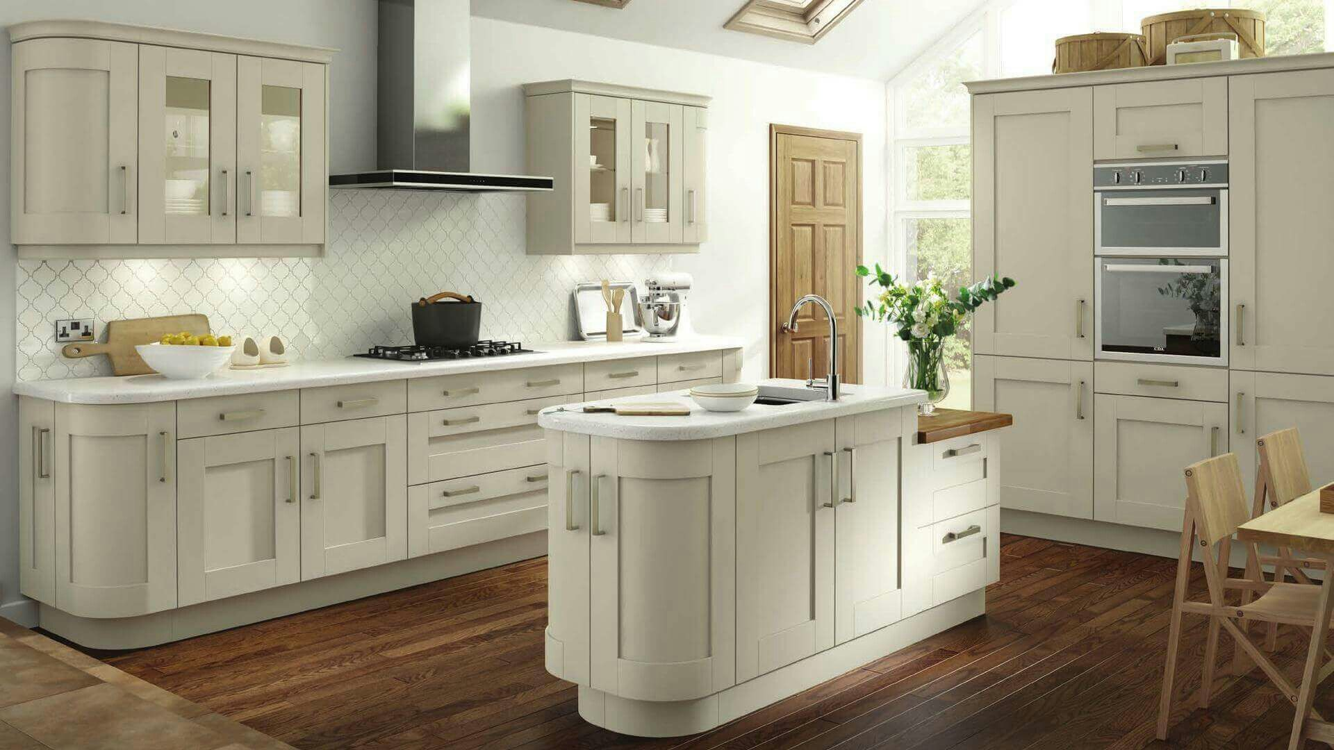 Atemberaubend Shaker Stil Küchenschranktüren Fotos - Ideen Für Die ...