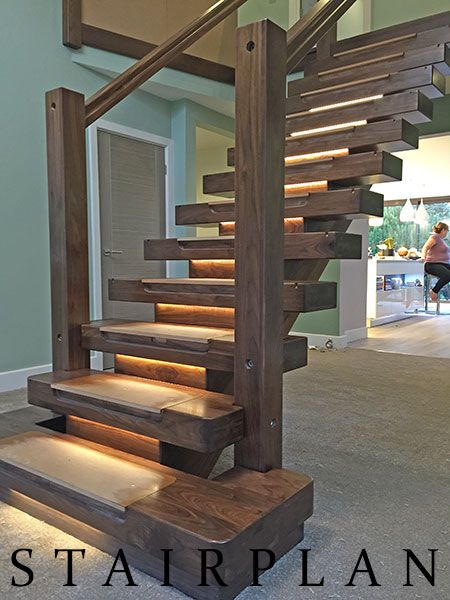Best The X Vision Staircase In Black Walnut Offers The X Factor 400 x 300