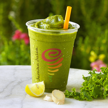 Greens N Ginger Jamba Juice Recipes Jamba Juice Nutritional Smoothie