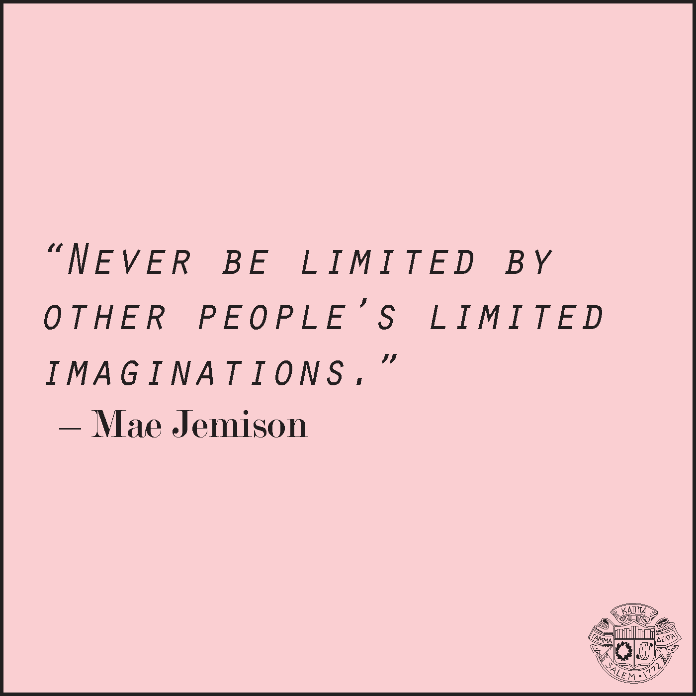 Mae Jemison | Favorite Quotes | Pinterest