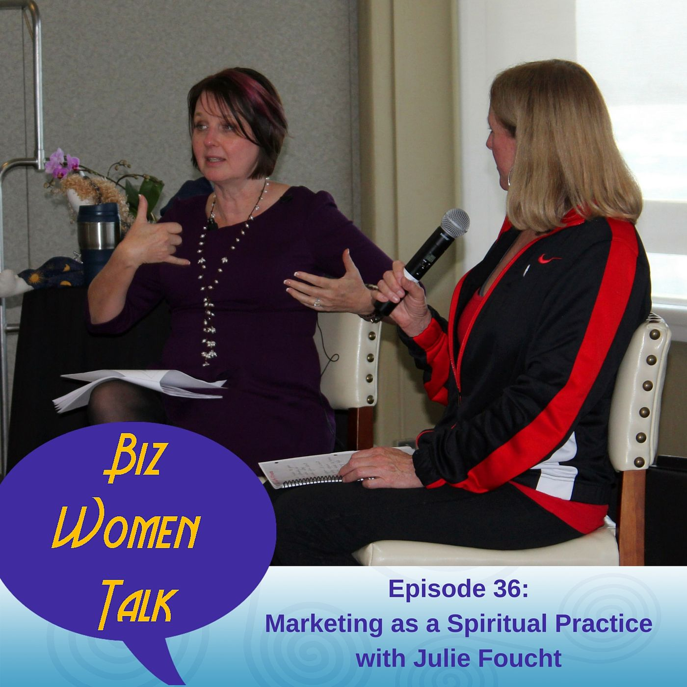 In this episode of Biz Women Talk, I explore the principals for understanding abundance; how money beliefs either serve us or they block our success; and how the flow of money works to make the world better. Plus, I share my spiritual practice for marketing my services. http://kickassbizcoaching.com/episode-36/