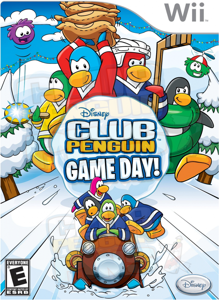 Wii Game Review Club Penguin Game Day! Club penguin